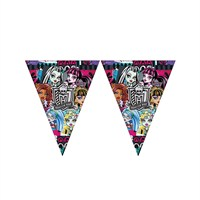 KullanAtMarket Monster High Bayrak Afiş 1 Adet