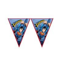 KullanAtMarket Superman Bayrak Afiş 1 Adet