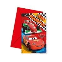 KullanAtMarket Cars Formula Davetiye 6 Adet