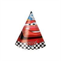 KullanAtMarket Cars Formula Külah Şapka 6 Adet
