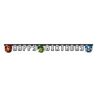 KullanAtMarket Avengers Power Happy Birthday Harf Afiş 1 Adet