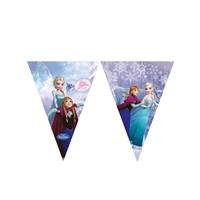 KullanAtMarket Frozen Ice Skating Bayrak Afiş 1 Adet