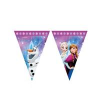 KullanAtMarket Frozen Buz Işıltısı Bayrak Afiş 1 Adet