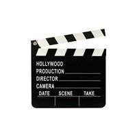 KullanAtMarket Hollywood Yildizi Parti Klaket 1 Adet