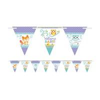 KullanAtMarket Hoşgeldin Bebeğim Bayrak Afiş 1 Adet