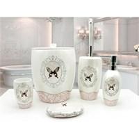 Mira Banyo Aksesuarları Beyaz, Aksesuar Set 5 Parça