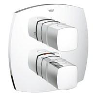 Grohe Grandera 2 Yollu Yön Değiştiricili Termostatik Banyo Bataryası