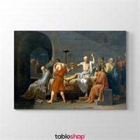 Tabloshop Jacques Louis David - Sokrates'İn Ölümü Tablosu
