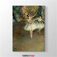 Tabloshop Edgar Degas - Two Ballerinas Tablosu