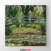 Tabloshop Claude Monet - Japanese Footbridge Tablosu