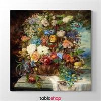 Tabloshop Hans Zatzka - Summer Flower Tablosu