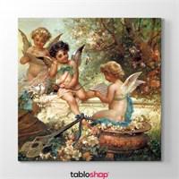 Tabloshop Hans Zatzka - Musician Angels Tablosu
