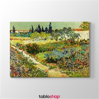 Tabloshop Van Gogh - Garden At Arles Tablosu