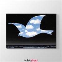 Tabloshop Rene Magritte - Kuş Tablosu