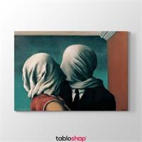 Tabloshop Rene Magritte - The Lover Iı Tablosu