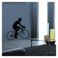 Artikel Bisikletçi Kadife Duvar Sticker