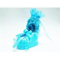 Hyd Bebek Mavi Ayakkabılı Gül Kokulu Tesbih