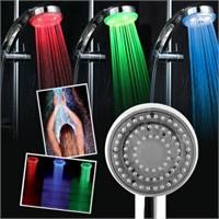 Carda Renk Değiştiren Duş Başlığı Led Işıklı