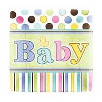 KullanAtMarket Hoşgeldin Bebek Tabak 8 Adet