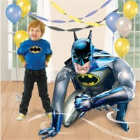 Parti Şöleni Batman Airwalker Folyo Balon