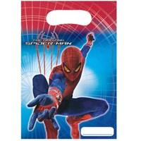 Parti Şöleni Spiderman Çantası 6 Adet