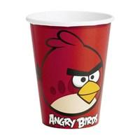 Parti Şöleni Angry Birds Bardak 8 Adet