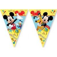 Parti Şöleni Mickey Mouse Carnaval Bayrak