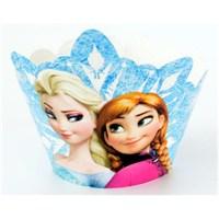 Parti Şöleni Frozen Cupcake Süsü 10 Adet