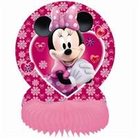 Parti Şöleni Minnie Mouse Masa Süsü 1 Adet