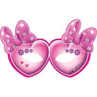 Parti Şöleni Minnie Mouse Maske 6 Adet