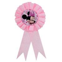 Parti Şöleni Minnie Mouse Kurdaleli Rozeti 1 Adet