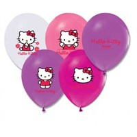Parti Şöleni Hello Kitty Balon 20 Adet