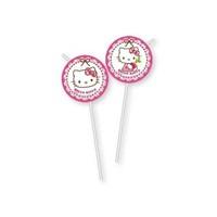 Parti Şöleni Hello Kitty Pipet 8 Adet