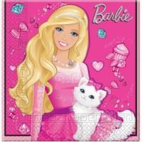 Parti Şöleni Barbie Peçete