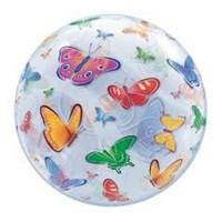 Parti Şöleni Kelebek Bubbles Folyo Balon