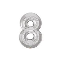 Parti Şöleni 8 Folyo Balon Metalik