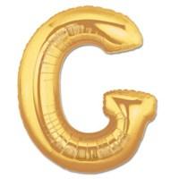 Parti Şöleni G Harf Folyo Balon Altın