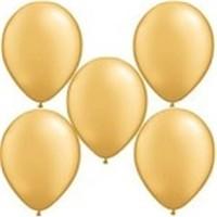 Parti Şöleni Altın Rengi Balon 20 Adet