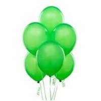 Parti Şöleni Metalik Yeşil Balon 20 Adet