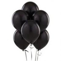 Parti Şöleni Siyah Balon 20 Adet