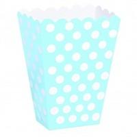 Parti Şöleni Mavi Puanlı Popcorn 6 Adet