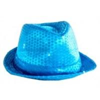 Parti Şöleni Mavi Pullu Parti Şapkası