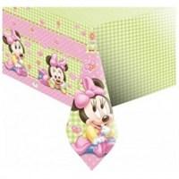 Parti Şöleni Baby Minnie Mouse Masa Örtüsü