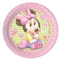 Parti Şöleni Baby Minnie Mouse Tabak