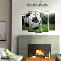 Canvastablom B157 Futbol Topu Parçalı Kanvas Tablo