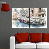 Canvastablom İ659 Modern Sanatsal Parçalı Tablo