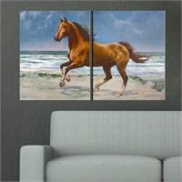 Canvastablom İ671 Arap Atı Parçalı Tablo