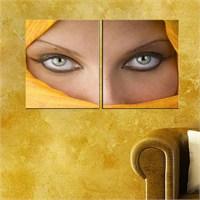 Canvastablom İ700 Woman Eyes Parçalı Tablo