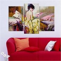 Canvastablom Ü75 Naked Girl Parçalı Tablo