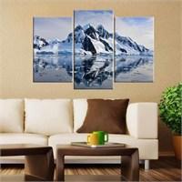 Canvastablom Ü131 Karlı Dağ Parçalı Tablo